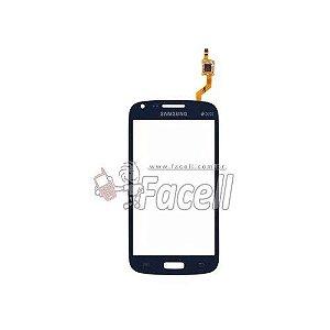 Touch Samsung Galaxy Core Duos 8262 Azul - 1ª Linha