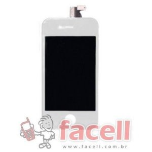 Touch + LCD (Frontal) iPhone 4 - Super AAA Branco