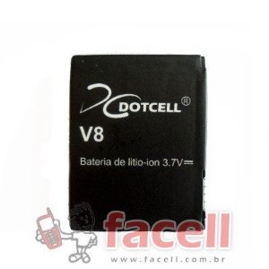 BATERIA MOTOROLA V8 - BX40 - DC