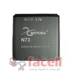 BATERIA NOKIA BP 6M - DC (N73)