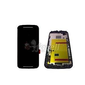 Touch + LCD (Frontal) Motorola Moto G2 XT1068 / XT1069 / XT1078 / XT1079 - 1ª Linha