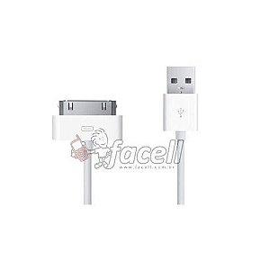 CABO USB IPHONE 4-4S BRANCO 1ªLINHA