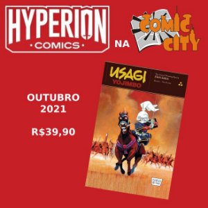 Pré-Venda: Usagi Yojimbo Vol.1 (Hyperion Comics) Exclusivo