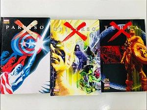 Coleção Marvel: Paraiso X - Universo X - Terra X (Capa Dura)