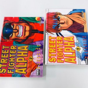 Street Fighter Alpha - Minissérie Completa (Mangá)
