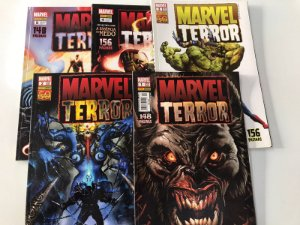 Marvel Terror - Completo Em 5 Edições - Panini 2010