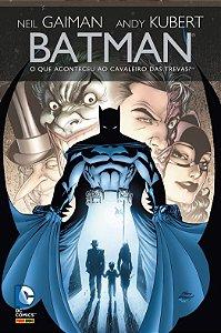 Batman - O que aconteceu com o Cavaleiro das Trevas? - Neil Gaiman, Capa Dura