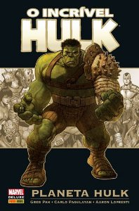 O incrivel Hulk: Planeta Hulk-Marvel Deluxe