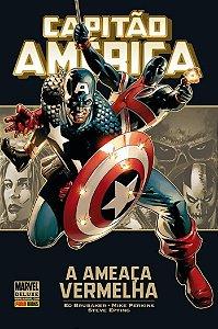 Marvel Deluxe - Capitão América - Ameaça Vermelha