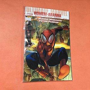Ultimate marvel Homem-aranha o mundo segundo Peter Parker