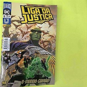 Liga da Justiça #9 - O mundo Gavião