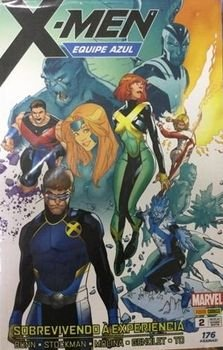 X-MEN Equipe azul #2 - Sobrevivendo à experiência