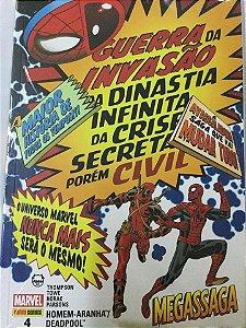 Deadpool e Homem-aranha #4 - Megassaga