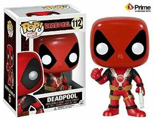 Deadpool Pop! Marvel Funko 112 Thumbs Up Version Original
