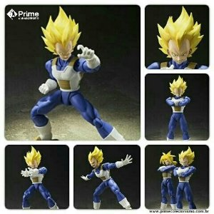 Vegeta Super Sayajin S.H. Figuarts Dragon Ball Bandai Original