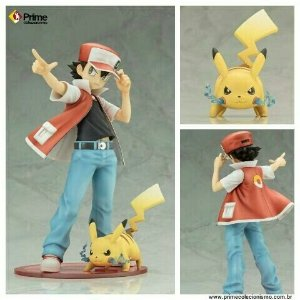 [ENCOMENDA] Red e Pikachu Pokemon ArtfX J Kotobukiya original
