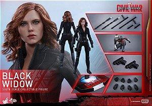 [ENCOMENDA] Black Widow Capitão America 3 Civil War Hot Toys Escala 1/6 original