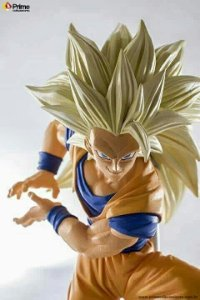 Goku Super Sayajin 3 Dragon Ball Super Scultures #6 Banpresto original