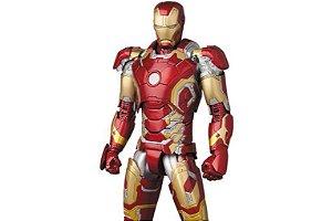 Homem de Ferro Mark 43 Vingadores Era de Ultron MAFEX No.013 Medicom Toy Original