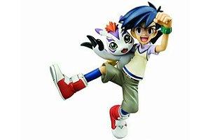 Joe Kido e Gomamon Digimon Adventure G.E.M. Megahouse original