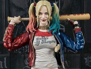 Arlequina Harley Quinn Esquadrão Suicida S.H. Figuarts Bandai original