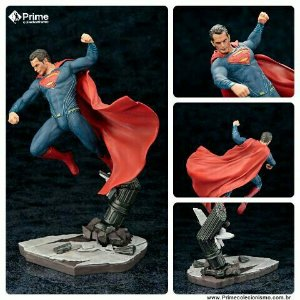 [ENCOMENDA] Superman Batman vs Superman Dawn of Justice ARTFX+ Kotobukiya original