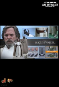 [ENCOMENDA] Luke Skywalker Star Wars The Force Awakens Hot Toys Original