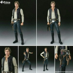 Han Solo Star Wars A new Hope S.H. Figuarts Bandai Original