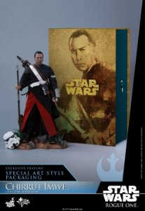 [ENCOMENDA] Chirrut Imwe Star Wars Roge One Hot Toys Original [DELUXE EDITION]