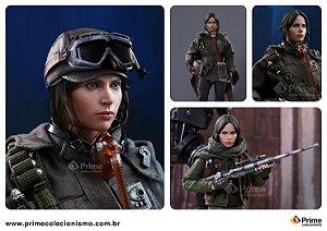 [ENCOMENDA] Jyn Erso Deluxe Edition Star Wars Rogue One Hot Toys Original