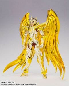 [ENCOMENDA] Sagittarius Aiolos Cavaleiros do Zodiaco Saint Seiya Soul of Gold Bandai Cloth Myth EX Original