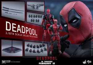 Deadpool Marvel Hot Toys Escala 1/6 original