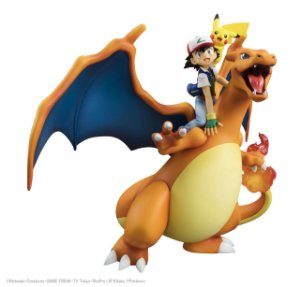 [ENCOMENDA] Ash Ketchum, Pikachu, Charizard Pokemon G.E.M. Megahouse Original