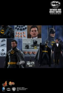 Batman & Bruce Wayne Batman Returns Hot Toys Escala 1/6 original