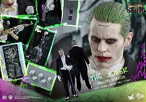 [ENCOMENDA] Joker tuxedo Suicide Squad Hot Toys Escala 1/6 original