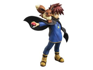 [ENCOMENDA] Gary Oak & Eevee Pokemon G.E.M. Megahouse Original