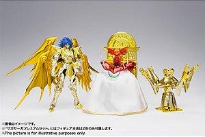 ENTRADA 25% [PRÉ-VENDA] Saga Saga Premium Set Cavaleiros do Zodiaco Saint Seiya Bandai Cloth Myth EX Original