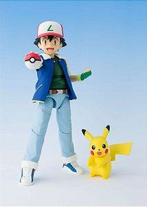 Ash Ketchum Pokemon S.H. Figuarts Bandai Original