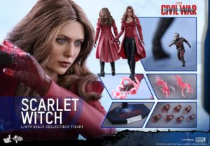 [ENCOMENDA] Scarlet Switch Capitão America 3 Civil War Hot Toys Escala 1/6 original