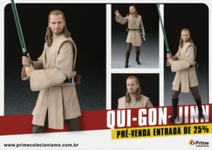 [ENCOMENDA] Qui Gon Jinn Star Wars Episode I The Phantom Menace S.H. Figuarts Bandai Original