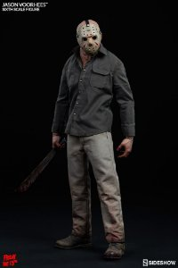Jason Voorhees Friday the 13th Sideshow Original escala 1/6