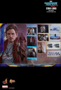 [ENCOMENDA] Star Lord Guardians of the Galaxy 2 Hot Toys Original Deluxe Edition