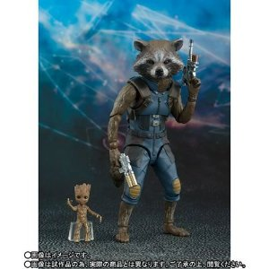 [ENCOMENDA] Rocket & Baby Groot of Guardians of the Galaxy Vol. 2 S.H. Figuarts Bandai Original