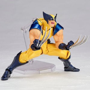 Wolverine Figure Complex Amazing Yamaguchi No.005 Revoltech Kaiyodo Original