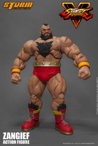 [ENCOMENDA] Zangief Street Fighter V Storm Collectibles Original