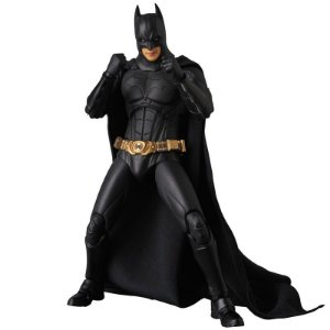Batman Begins Suit MAFEX No.049 Medicom Toy Original