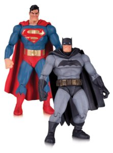 Superman & Batman DC Comics Batman: The Dark knight Returns 30th Anniversary Version Box set DC Collectibles Original