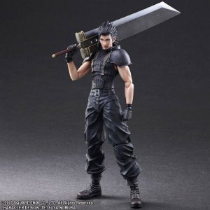 [PRE-VENDA] Zack Crisis Core Final Fantasy VII Play Arts Kai Square Enix Original