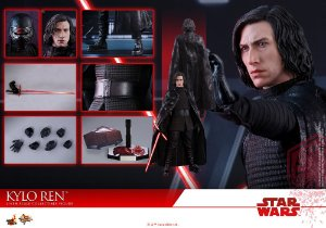 Kylo Ren Star Wars The Last Jedi Movie Masterpiece Hot Toys Original