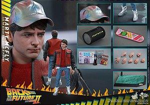 [ENCOMENDA] Marty McFly De volta para o futuro II Hot Toys Original